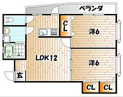 リバブルハウス[2階]の間取り