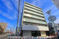 大阪府枚方市牧野阪1丁目の賃貸マンションの外観