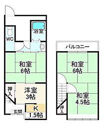 東福寺駅 2,500万円