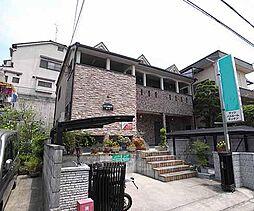 京都府京都市伏見区深草鞍ケ谷の賃貸アパートの外観