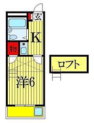 東船橋第3レジデンス[1階]の間取り