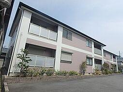 大阪府高槻市庄所町の賃貸アパートの外観
