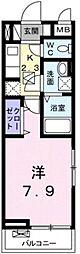 マハロ2[3階]の間取り