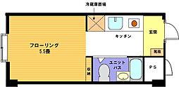 ヴェール横浜[117号室]の間取り