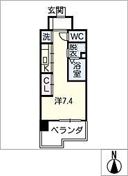 Atrio鶴舞[6階]の間取り
