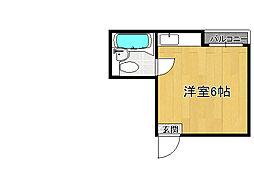 ファースト田島[1階]の間取り