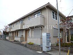 東京都調布市菊野台2丁目の賃貸アパートの外観