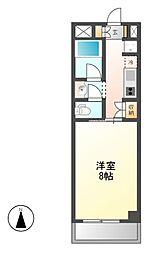 サニープレイス名古屋港[3階]の間取り