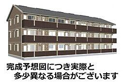 山口県下関市大字有冨の賃貸アパートの外観