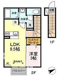 グレード VI[2階]の間取り