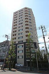 東京都文京区本駒込1丁目の賃貸マンションの外観