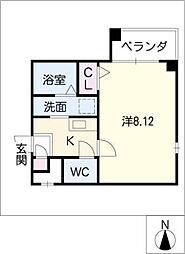 Novel Crea[1階]の間取り