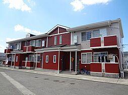 徳島県板野郡藍住町勝瑞字正喜地の賃貸アパートの外観