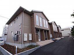 茨城県神栖市知手中央4の賃貸アパートの外観
