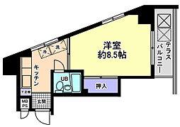信開ウエラコート犀川[405号室]の外観