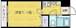 TTH東梅田[6階]の間取り