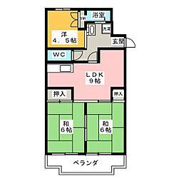 アビタシオン21[2階]の間取り