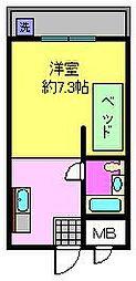 瀬田エステートシティ[301号室]の間取り