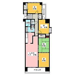 丸美ロイヤル港 1006号室[10階]の間取り