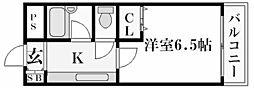 ステラハウス23[2階]の間取り