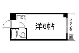 北浅ハイツ[1階]の間取り