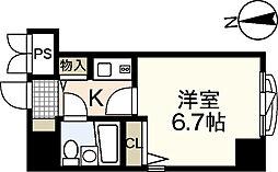 ダイアパレス横川公園[9階]の間取り
