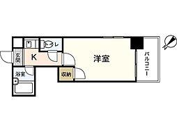 スタープラザ三篠[6階]の間取り