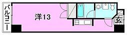 カローラ木屋町[102 号室号室]の間取り