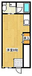 パインヒル篠崎[1階]の間取り
