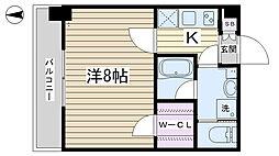 クレア田端プレミアレジデンス[703号室]の間取り