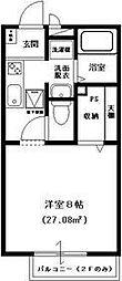 プレミール 2[205号室号室]の間取り