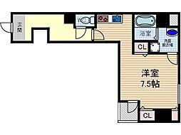 ザ・レジデンス茨木[3階]の間取り