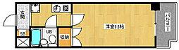 京都府京都市伏見区向島津田町の賃貸マンションの間取り