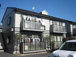 埼玉県八潮市八潮4丁目の賃貸アパートの外観