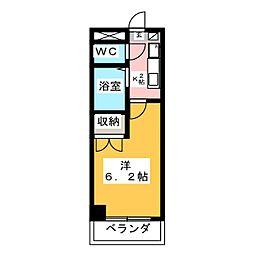 リバーコートセト[6階]の間取り