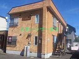 北海道札幌市東区北三十七条東18の賃貸アパートの外観