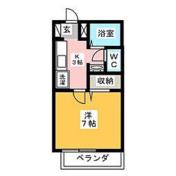 FACILITY浅田[1階]の間取り