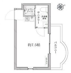 ARK HOUSE ASAGAYA[302号室号室]の間取り