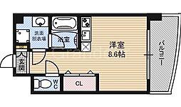 ドリームネオポリス鶴見3[3階]の間取り