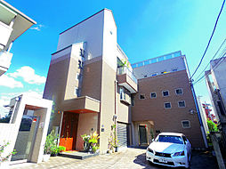 埼玉県所沢市東住吉の賃貸マンションの外観