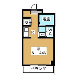アーバンオネスト[2階]の間取り