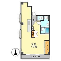 東京都江戸川区北小岩6丁目の賃貸マンションの間取り