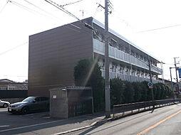 大阪府堺市堺区錦綾町3丁の賃貸アパートの外観