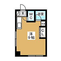 菅原ビル[2階]の間取り