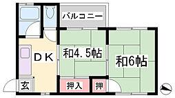 圭マンション[3階]の間取り