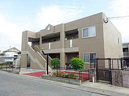 福岡県八女郡広川町大字久泉の賃貸アパートの外観
