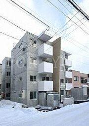 北海道札幌市豊平区月寒東一条6丁目の賃貸マンションの外観