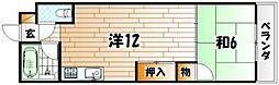 ギャラン江南[6階]の間取り