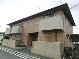 大阪府茨木市島1丁目の賃貸アパートの外観