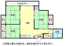 AC井堀[5階]の間取り
